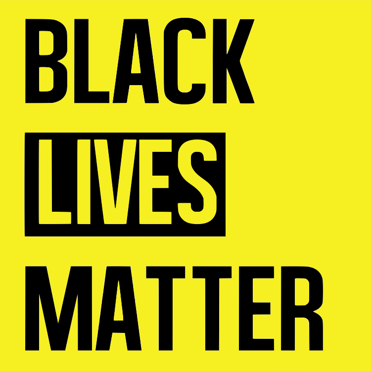 In solidarity with Black Live Matter